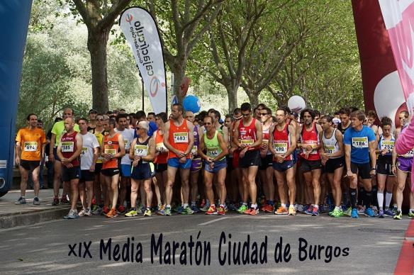 media Maratón ciudad de Burgos