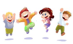 Imágenes-de-Niños-Felices-en-Caricaturas-1