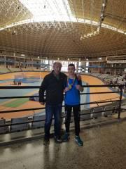 David Carranza con Felix Novoa