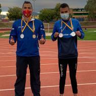 Javier Sagredo y Cristian Cantillo